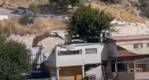 القدس: هدم في سلوان ونداءات استغاثة من المساجد
