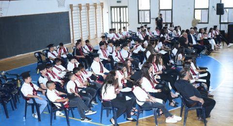 سخنين : مدرسة السلام تحتفل بتخريج الفوج الخامس والسبعين