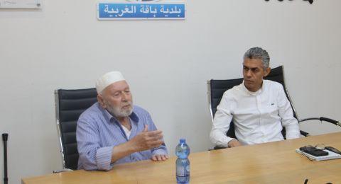 وفد وإدانة حادثة العنف التي تعرض لها رئيس باقة الغربية