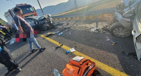 قتيل و 4 اصابات في حادث طرق مروع قرب طبعون
