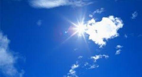 حالة الطقس: أجواء حارة جداً