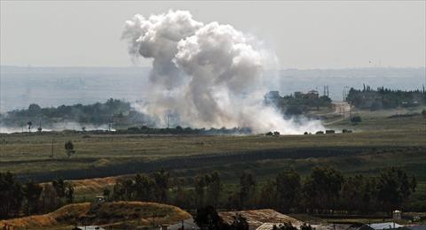 سقوط قذيفة بالجولان السوري المحتل دون وقوع اصابات