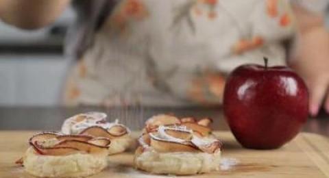 طريقة حلى ورود التفاح