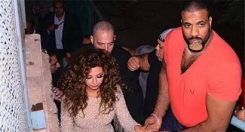 أضخم بودي جاردات الفنانين العرب