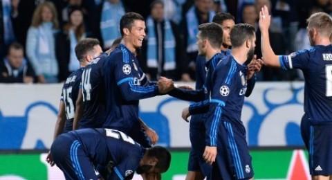 كريستيانو رونالدو يقود ريال مدريد لتحيق فوز صعب على مالمو
