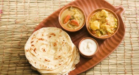 اليك اسهل طريقة لصنع خبز البراتا الهندي