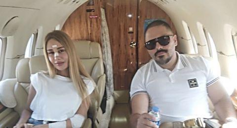 بعد تعافيها.. رامي عيّاش يستضيف الفريق الطبي الذي إهتم بزوجته