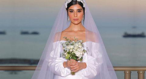 تعليق غريب من زينة مكّي بعد زفافها بيوم واحد