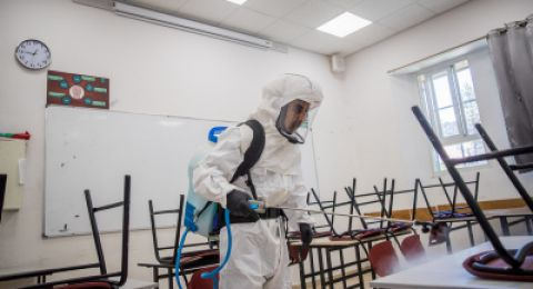 اغلاق صفوف بمدرسة شمال نابلس بعد اصابة ثلاثة معلمين بكورونا