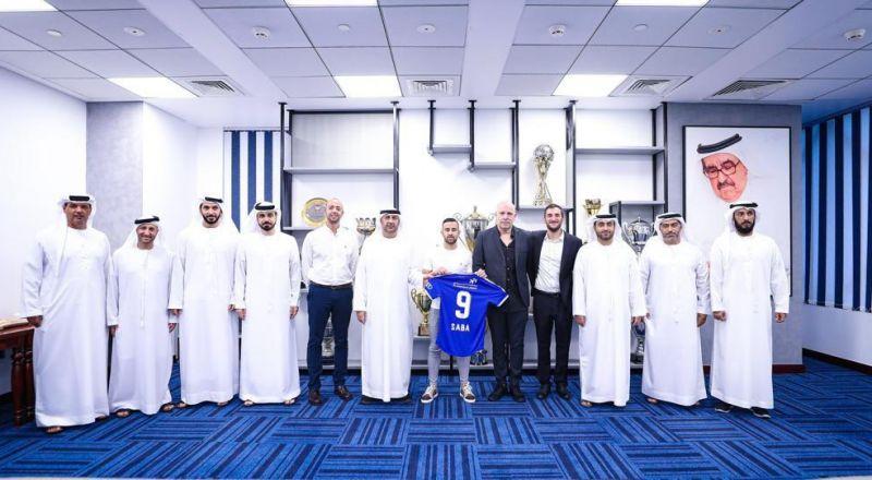 نادي النصر الإماراتي يتعاقد رسميا مع اللاعب ضياء سبع