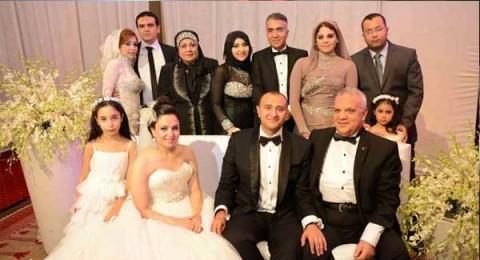 عمر دياب يتألق بحفل زفاف شقيق زوجة حمادة هلال