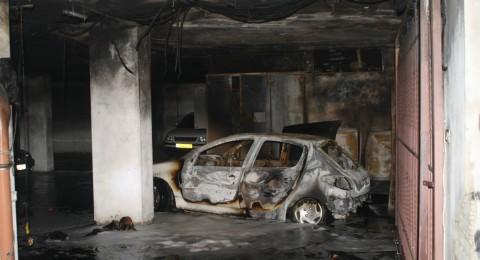 إنفجار خزاني وقود داخل مرآب بناية سكنية في رام الله