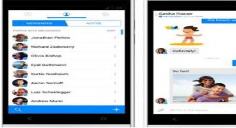 فيسبوك، يقوم بتحديث جديد لتطبيق ماسنجر على الاندرويد