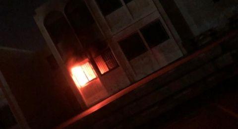 تل السبع: نشوب حريق في غرفة الحواسيب في المدرسة الابتدائية