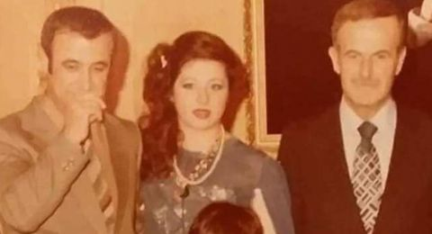 وفاة زوجة رفعت الأسد في القرداحة (صورة)