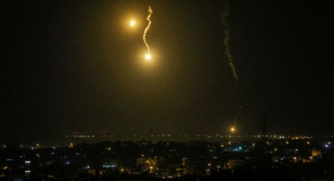 إصابة 3 مواطنين فجر اليوم بغارات على مواقع للمقاومة في غزة