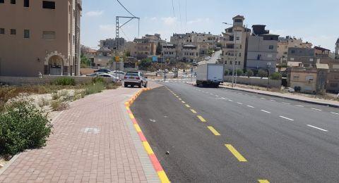 بلدية الناصرة تنفذ اعمال تعبيد وتطوير في حي كرم الصاحب