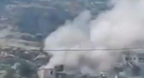 إسقاط طائرة استطلاع إسرائيلية في النبطية جنوب لبنان