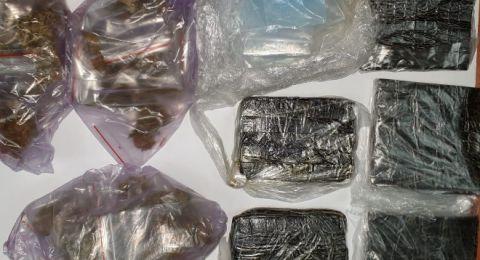 كفرقرع: اعتقال 15 شخصًا بشبهات حيازة سلاح ومخدرات