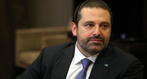 الرئيس اللبناني يقبل استقالة الحريري ويطلب منه تصريف الأعمال