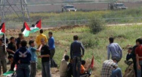 اصابات برصاص الاحتلال مع بدء جمعة