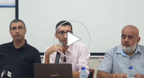 كفركنا: مؤتمر صحفي حول التطورات الإيجابية بقضية الشهيد خير الدين حمدان