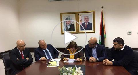 وزيرة الصحة تعلن التوصل لاتفاق يُنهي أزمة مستشفى المطلع