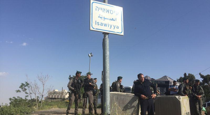 اضراب مفتوح في مدارس العيساوية، بعد اقتحام قوات الجيش للمدرسة الثانوية