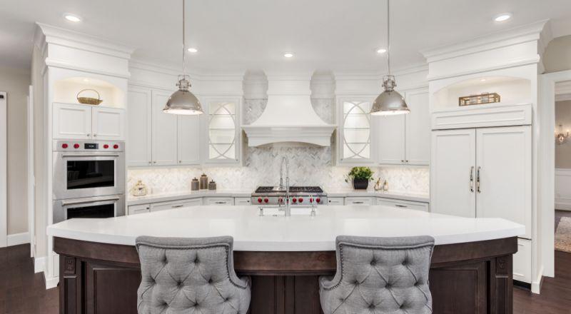 تنظيف وتلميع رخام المطبخ