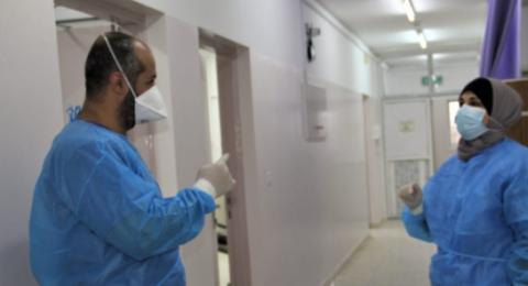 7 حالات وفاة و447 إصابة جديدة بفيروس كورونا في غزة