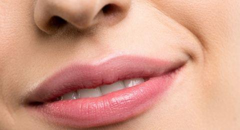 تصغير المسافه بين الأنف والفم بالمكياج