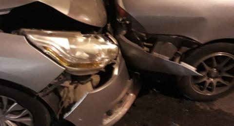 عيلوط: 3 اصابات في حادث طرق!