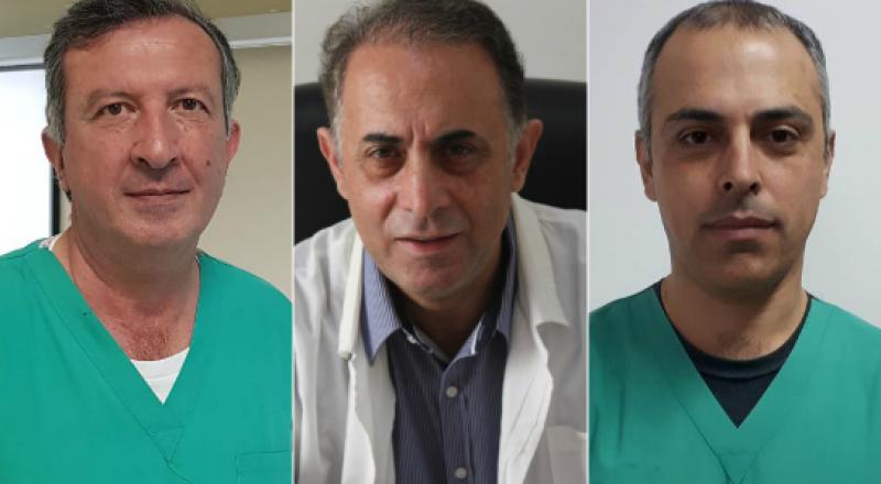 نجاح عمليّات لاستبدال مفصل الورك بالطريقة الاماميّة في قسم جراحة العظام في مستشفى الناصرة - الانجليزي