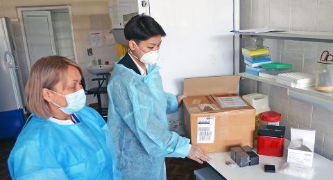 تل السبع: وفاة إمرأة حامل بعد اصابة بالكورونا