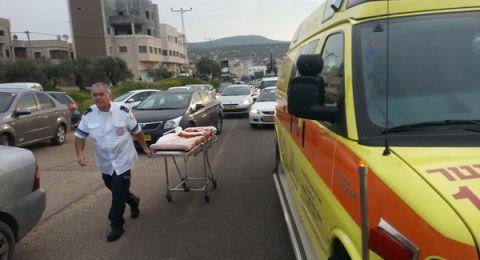النقب: حادث طرق يسفر عن 14 اصابة