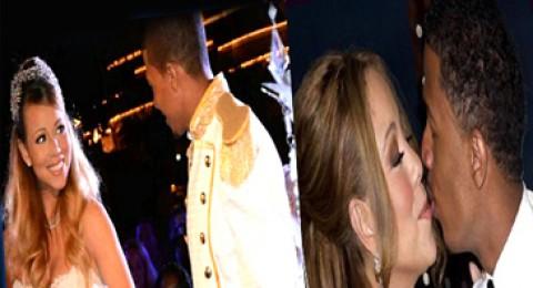 ماريا كاري تجدد عهود زواجها بثوب سندريلا