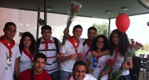 جامعة حيفا: الجبهة الطلابية تُحيي يوم العمال في الجامعة