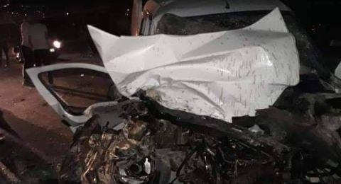 مصرع مواطن واصابة اثنان في حادث سير في جنين