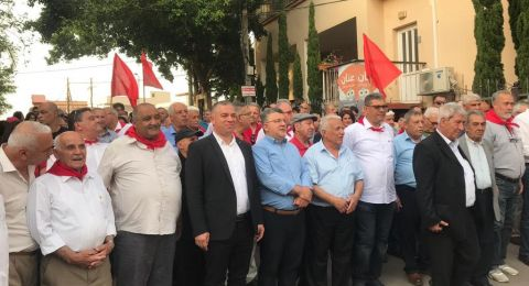 أبو سنان وكفر ياسيف: حضور واسع في مسيرة أولّ أيّار