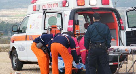 10 إصابات بحادث طرق قرب بيسان- وإصابة عامل في حيفا
