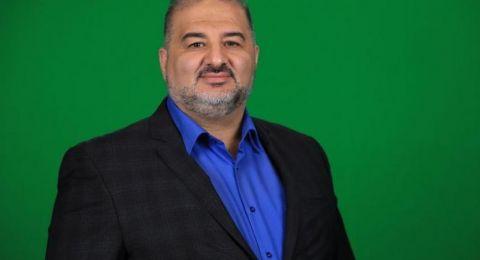 النائب الجديد، منصور عباس: نتائج الانتخابات لم تكن مرضية