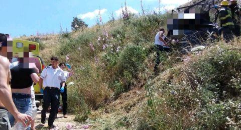 الجلبوع: مصرع 3 شابات من شرقي القدس بحادث انقلاب مركبة واصابة رابعة بحالة متوسطة