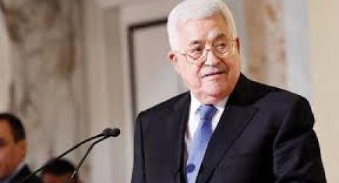 عباس يؤكد رفض استلام
