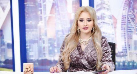 مي العيدان تنتقد فستان ابنة عمرو دياب وتشبهها بزوجة أبيها دينا الشربيني