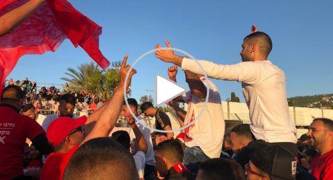عرعرة: احتفالات بمناسبة صعود هبوعيل للدرجة الأولى