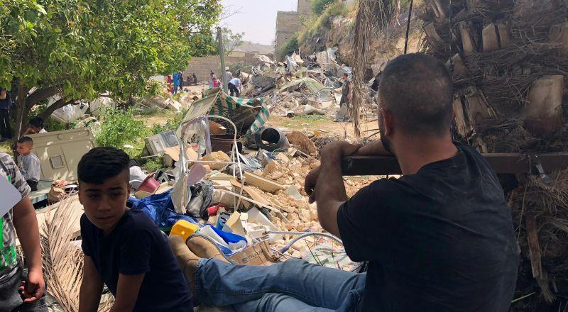 القدس: هدم منزلين في واد ياصول بحجة البناء دون ترخيص