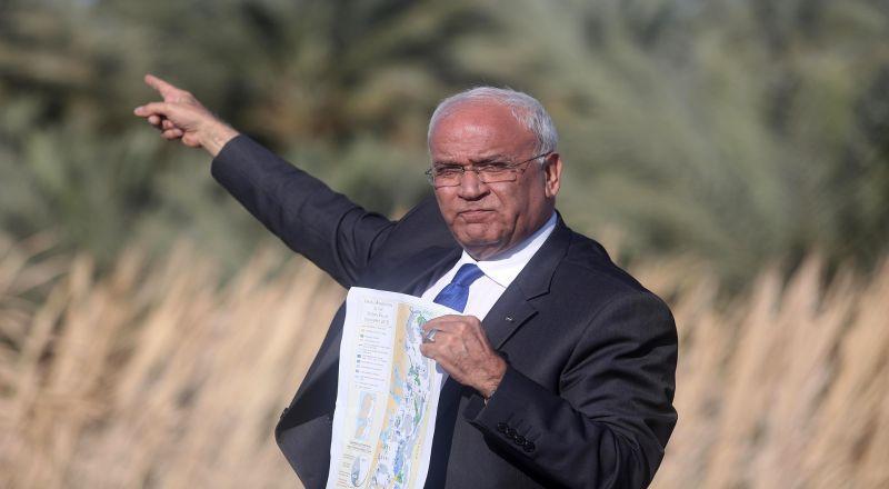 عريقات يعقب على تقرير حول تدريس العنصرية الصهيونية نشرته تايمز اوف اسرائيل