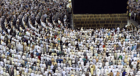 الكعبة تشهد تغير اتجاه الشمس أول شهر رمضان في ظاهرة نادرة
