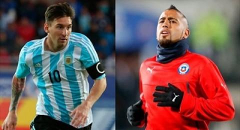الأرجنتين × تشيلي: حقائق وأرقام