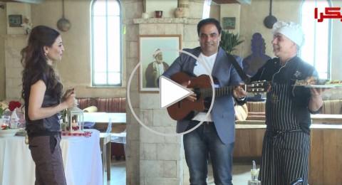 رمضان بيجمعنا مع أحلى لمة والفنان سهيل فودي في مطعم